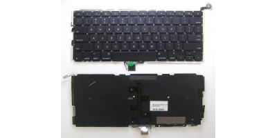klávesnice pro notebook Apple Macbook Pro Unibody A1278 MB466 MB467 black US - no frame