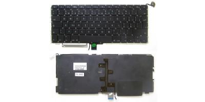 klávesnice pro notebook Apple Macbook Pro Unibody A1278 MB466 MB467 black CZ česká no frame + podsvit
