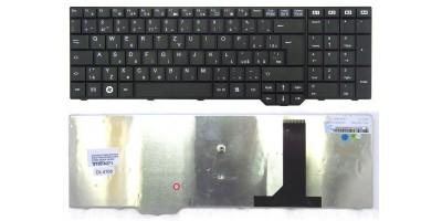 česká klávesnice Fujitsu Siemens Amilo PI 3625 Xi 3670 Li 3910 XI 3650 XA 3530 XA 3520 black CZ/SK