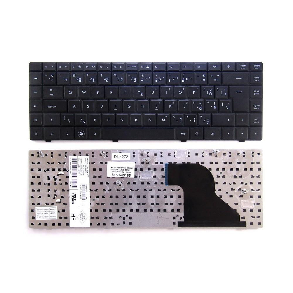 klávesnice HP 620 621 625 Compaq CQ620 CQ621 CQ625 black CZ - dotisk