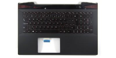 klávesnice Lenovo Y50 Y50-70 black CZ/SK - backlight - typ 1 palmrest