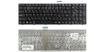 klávesnice MSI A6200 A6300 A6500 A7200 CR620 CR630 black CZ/SK česká