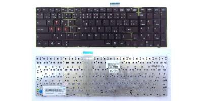 klávesnice MSI A6200 A6300 A6500 A7200 CR620 CR630 black CZ česká  design 2