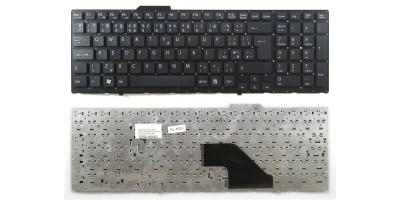 česká klávesnice Sony Vaio VPC-F11 VPC-F12 VPC-F13 black CZ   dotisk - bez rámečku