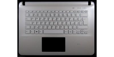 klávesnice Sony Vaio SVF142 SVF143 white CZ/SK palmrest