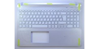 klávesnice Sony Vaio SVF152C29M white CZ/SK backlight palmrest