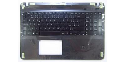klávesnice Sony Vaio SVF152C29M black CZ/SK backlight palmrest