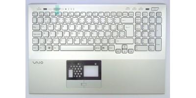 klávesnice Sony Vaio PCG-41412M VPCSE silver CZ/SK - palmrest podsvit