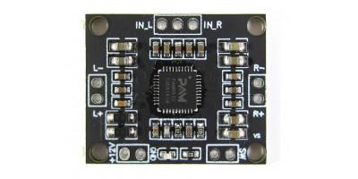 Mini zesilovač XH-M181 12V 2x15W PAM8610