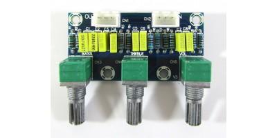 XH-M802 pasivní ladicí / předzesilovací deska