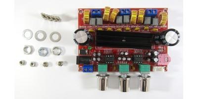 2.1 zesilovač XH-M139 - 2x50W + 100W