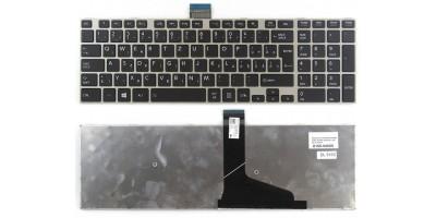klávesnice Toshiba Satellite L50 L70 S50 S70 black SK silver frame