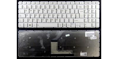 klávesnice Toshiba Satellite L50-B L50D-B L55-B L55D-B L55T-B white UK/CZ no frame