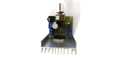 zesilovač pro mp3 set TDA7297 2x15W 04