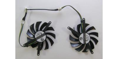 ventilátor Power Logic PLD08010S12HH pro VGA