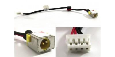 Napájecí konektor s kabelem Acer Aspire E1-571G E1-531G E1-521G Q5WPH 65W - 4pin - 18cm