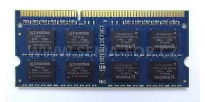 DDR3 4GB 1333 sodimm použitá