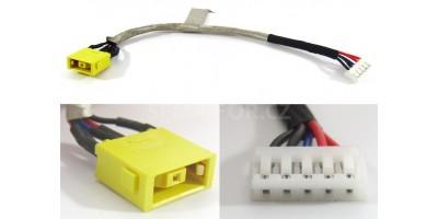 napájecí konektor s kabelem Lenovo IdeaPad Z710 Essential G700