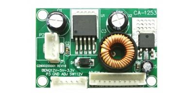 měnič 12V / 5V 3,3V pro logiku VGA