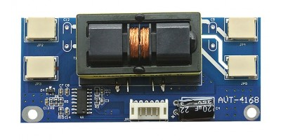 inverter AVT-4168 4lamps 10-28V LCD small