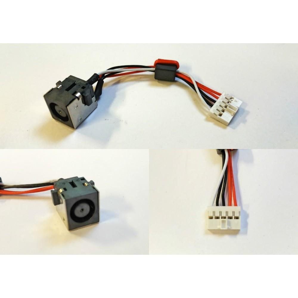Napájecí konektor s kabelem  Dell Inspiron 15R 5520 7520 M521R 5525 Vostro 3560 - 7,4x5,0mm - 5pin