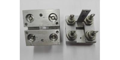 4x schottky dioda 1N5832 s chladičem, blok