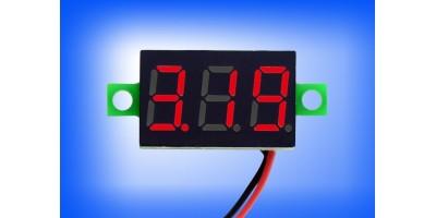 displej - voltmetr 2,5 - 30V