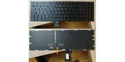 klávesnice Asus ROG GL502 GL502VM GL502VS GL502VT GL502VY CZ/SK česká s podsvitem - verze 2