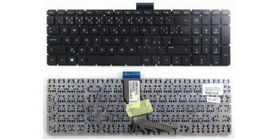 Tlačítko klávesnice HP Pavilion 15-RA 15-RB 17-AK 17-BS 250 G6 255 G6 256 G6 258 G6 black CZ/SK - no frame, malý enter