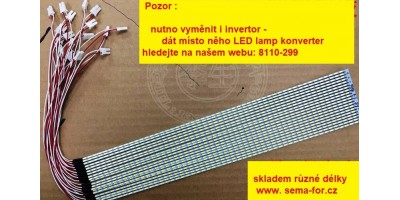 "LED Lamp 12""  - 258mm"