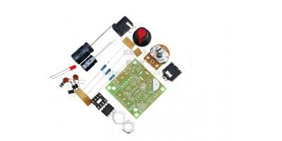 zesilovač TDA2030A, 1x18W mono, 9-24V rozložený
