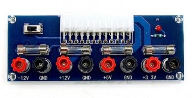 výstupní modul k ATX zdroji