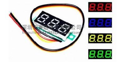 displej - AC voltmetr 70-500V