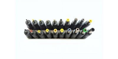 sada 28 ks napájecích konektorů / redukcí