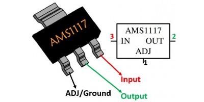 io AMS1117 3.3V