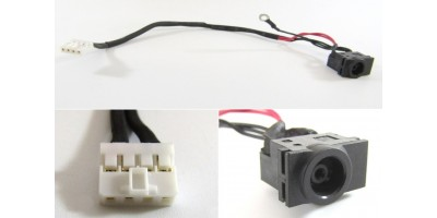 Napájecí konektor s kabelem Samsung Q530 - 5,5x3,0mm - 4pin