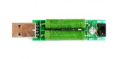 USB odporová zátěž 1A/2A