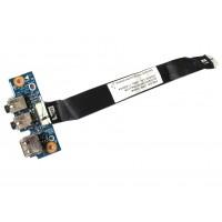 ASUS X53U K53U K53T K53Z USB + Audio Board s kabelem - použitá