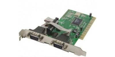 PCI karta 2x Serial RS232