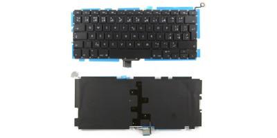 klávesnice pro notebook Apple Macbook Pro Unibody A1278 MB466 MB467 black UK/CZ dotisk no frame + podsvit