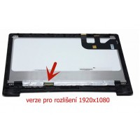 "13,3"" LCD + dotykové sklo Asus Transformer Book TP300 TP300L TP300LA TP300LJ s rámečkem - verze 1920x1080"