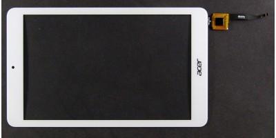 """8"""" dotykové sklo Acer Iconia One 8 B1-850 bílé"""