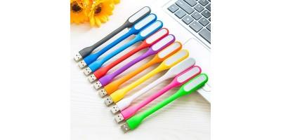 USB LED lampička k notebooku oranž