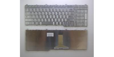 Tlačítko klávesnice Toshiba Satellite A500 L350 L500 P100 P200 P300 silver UK