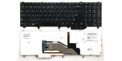 klávesnice Dell Latitude E5520 E5530 E6520 E6530 E6540 BR black touchpoint backlight