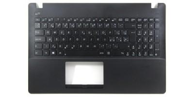 klávesnice Asus F553 X553 X553M X553MA black UK/CZ/SK dotisk - palmrest