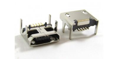 konektor micro USB B 5 pin female 11B