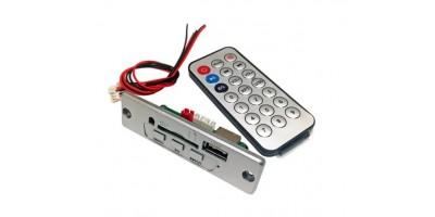 MP3 set silver s ovládáním