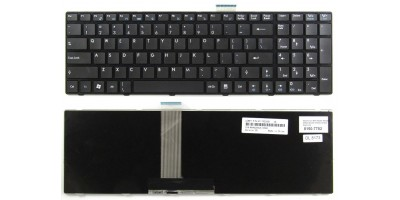 klávesnice MSI A6200 A6300 A6500 A7200 CR620 CR630 black US