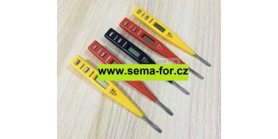 displej - voltmetr 0-100V DC žlutý